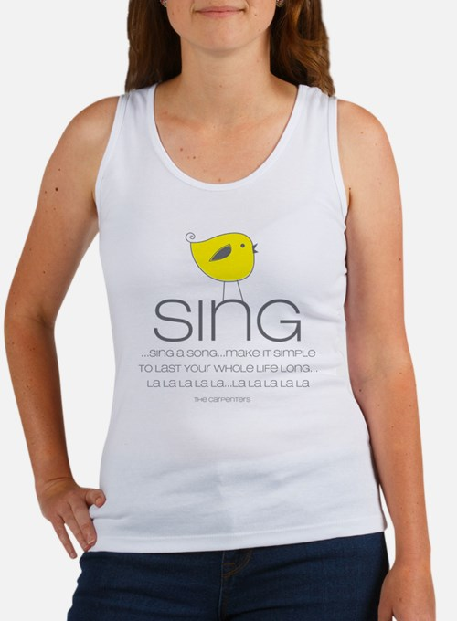 sing Women's Tank Top