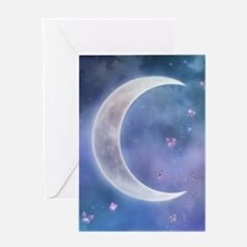 Butterfly_Moon_journal Greeting Card