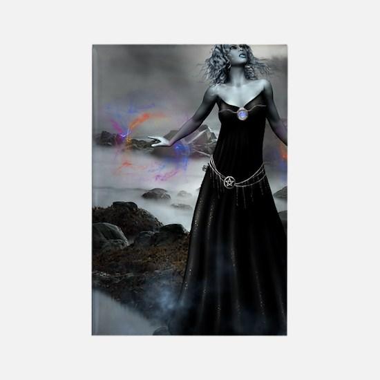 Goddess_Cailleach_notecard Rectangle Magnet