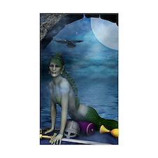 MERMAIDS_Mermaid_At_The_Window Decal