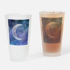 Butterfly_Moon_box Drinking Glass