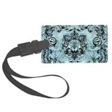 Blue vintage floral Travel Accessories