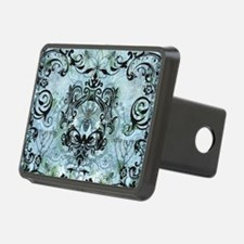 BeeFloralBluPiloHz Hitch Cover