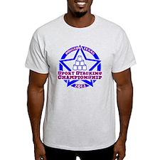 on red Texas Championship T-Shirt