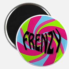 Frenzy_circle_t_shirt2 Magnet