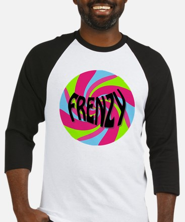 Frenzy_circle_t_shirt2 Baseball Jersey