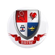 """Nursing Crest 3.5"""" Button"""