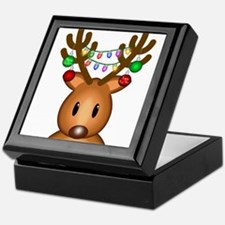 Christmas Deer Keepsake Box