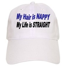 Life is Straight Baseball Cap