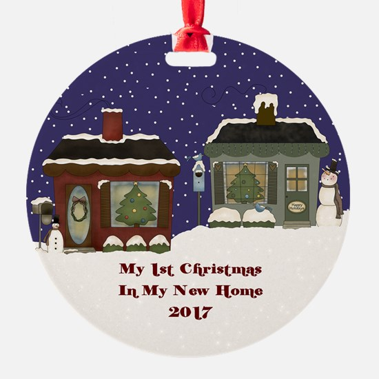 2017 My 1St Christmas Cottage Ornament
