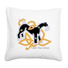 KerryBlueTrans Square Canvas Pillow