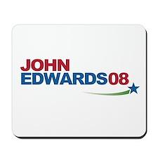 john edwards logo gear Mousepad