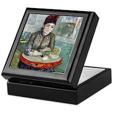 iPad VG In the cafe Keepsake Box