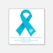 """2012 CDH Awareness Day Fron Square Sticker 3"""" x 3"""""""