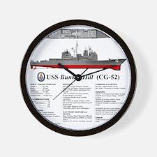 Tico_CG-52_TShirt_Back Wall Clock