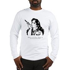 grrr-b+w+txt Long Sleeve T-Shirt