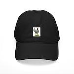 Blue OE Hen Black Cap
