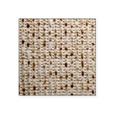 "matzoh, thong, 2x Square Sticker 3"" x 3"""