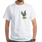 Blue OE Hen White T-Shirt