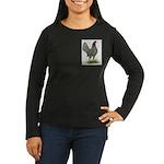Blue OE Hen Women's Long Sleeve Dark T-Shirt