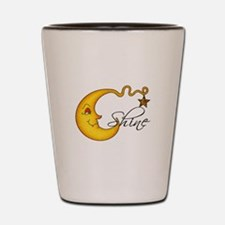 Glowing MoonShine With Star Shot Glass