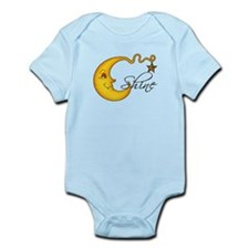 Glowing MoonShine With Star Infant Bodysuit