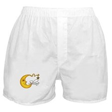 Glowing MoonShine With Star Boxer Shorts