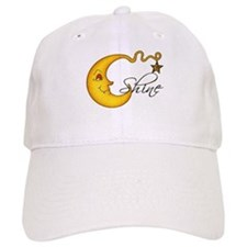 Glowing MoonShine With Star Baseball Cap
