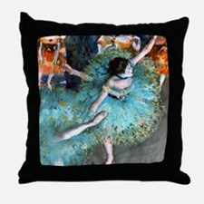 iPad Degas GreenD Throw Pillow