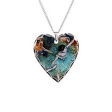 GC Degas GreenD Necklace Heart Charm