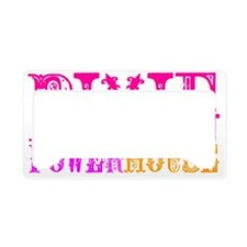 Pixie Powerhouse License Plate Holder