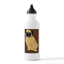 puzzleSweetiePug Water Bottle