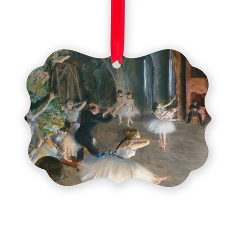 GC Degas Onstage Picture Ornament