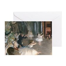 PC Degas Onstage Greeting Card