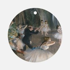 NC Degas Onstage Round Ornament