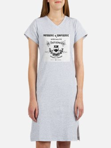 Patisserie-Sign Women's Nightshirt