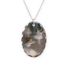 443 Degas Onstage Necklace Oval Charm
