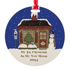 2014 My 1St Christmas Cottage Ornament
