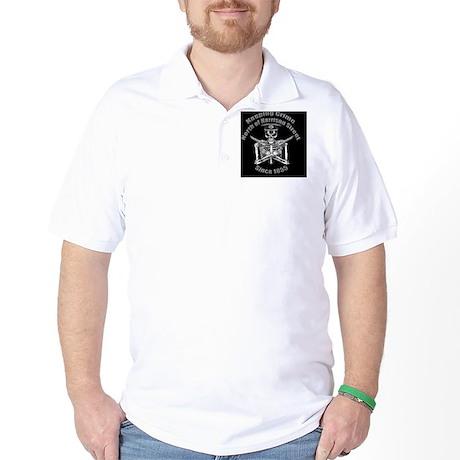 BPOA Skeleton Emb Golf Shirt