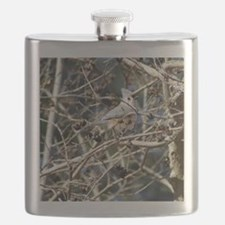 TuftedTitmouseiPad2 Flask