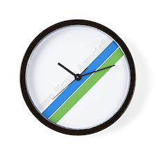 dbastripes Wall Clock