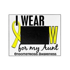 D I Wear Yellow For My Aunt 10 Endom Picture Frame
