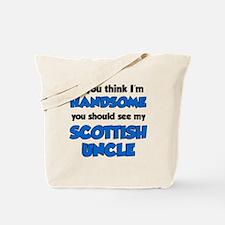 Im Handsome Scottish Uncle Tote Bag