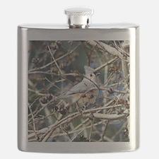 TuftedTitmouseNoteCard Flask