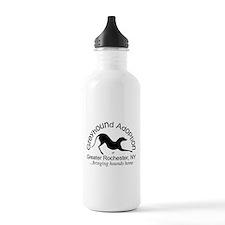 GAGR Black Logo Water Bottle