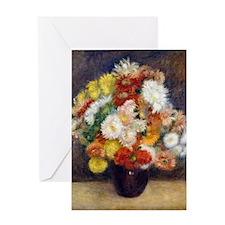 iPad Renoir Chrys Greeting Card