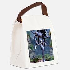Goddess_Kali_notecard Canvas Lunch Bag