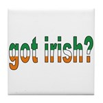 Got Irish Tile Coaster