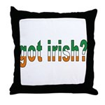 Got Irish Throw Pillow