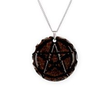 Brown Pentacle Necklace